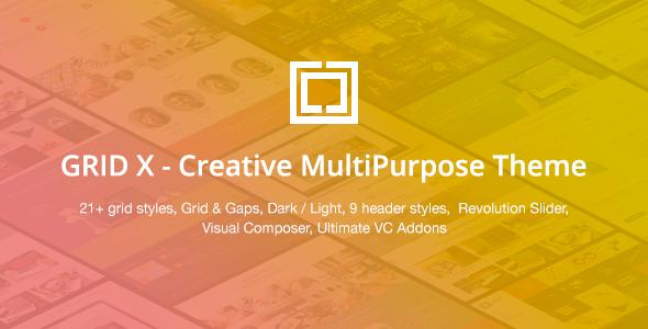 GRID X v1.3.8 — Creative MultiPurpose Theme