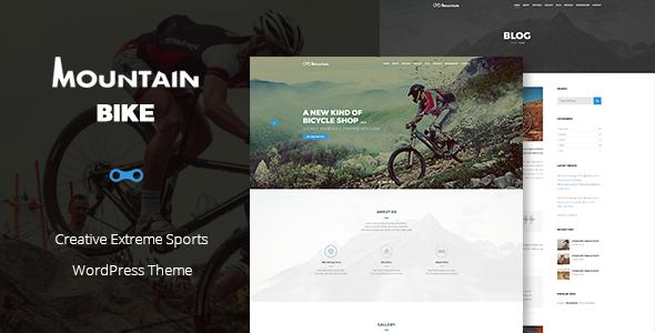 Mountain Bike v1.0 — Creative Extreme Sports Theme
