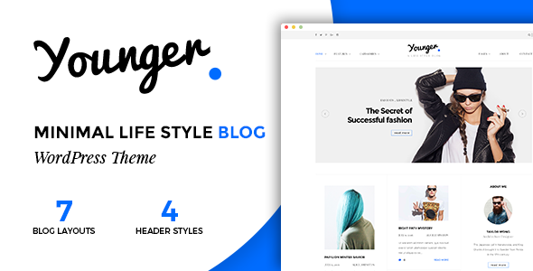 Younger Blogger v1.0 — Personal Blog Theme