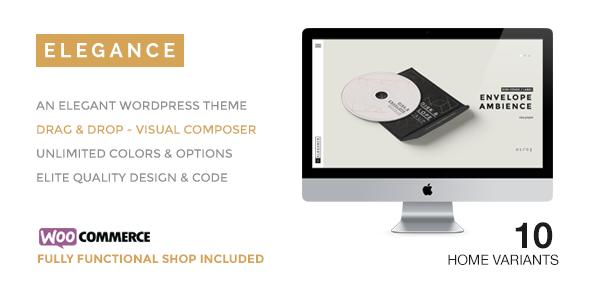 ELEGANCE v1.6 — A Creative WordPress Theme with Shop