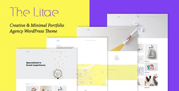 The Litae v1.4.0 — Creative and Minimal Portfolio WordPress Theme