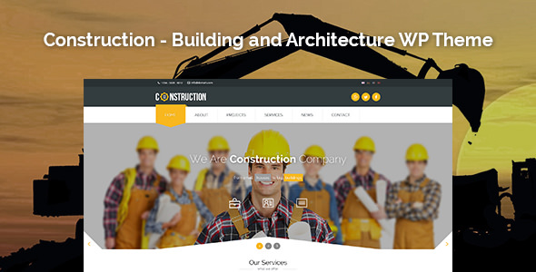 Construction v1.3.2 — Building and Architecture WP Theme