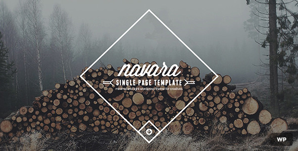 Navara v1.5.1 — WordPress Single Page Theme