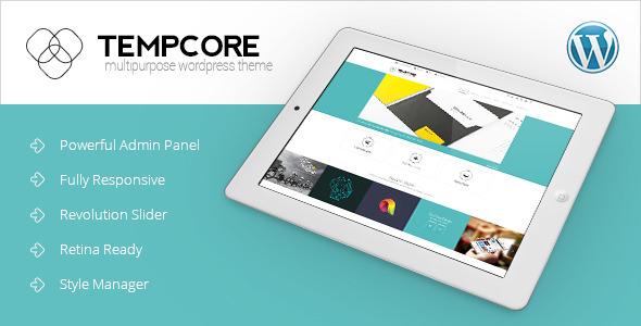 Tempcore v1.3.2 — Responsive WordPress Theme