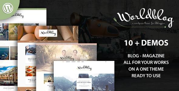 Worldblog v1.0 — WordPress Blog and Magazine Theme
