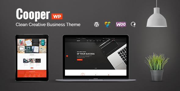 Cooper v1.1.4 — Clean Creative Business Theme