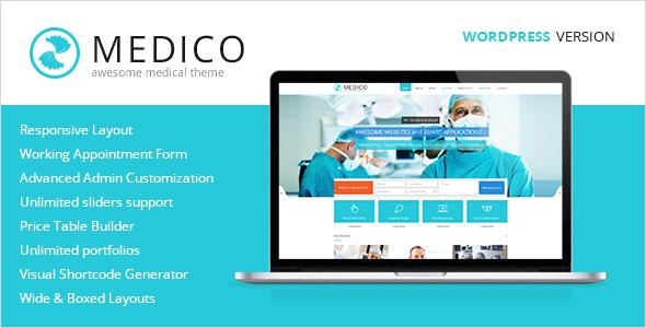 Medico v1.5.1 — Medical and Health WordPress Theme