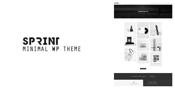 Sprint v1.3 — Minimal WordPress Portfolio