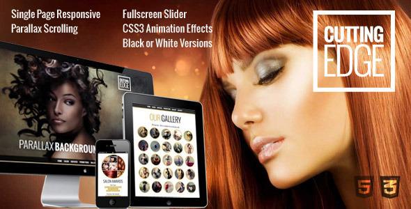 Cutting Edge v1.0 — Spa Hair Salon WooCommerce WP Theme