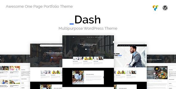 Dash v1.0 — Creative Business Theme