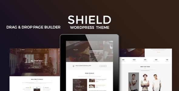 Shield v1.0 — A Creative Responsive Multi-Concept WordPress Theme