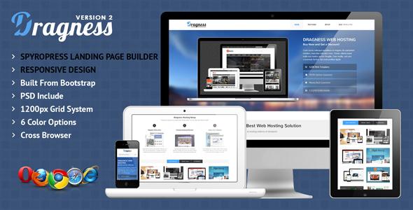 Dragness v1.0.1 — WordPress Landing Page Theme