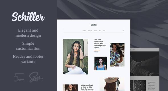 Schiller v1.0.10 — Personal Blog Theme