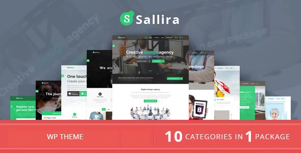Sallira v1.0 — Multipurpose Startup Business WordPress Theme
