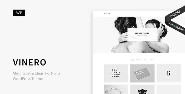 Vinero v2.1 — Very Clean and Minimal Portfolio WordPress Theme