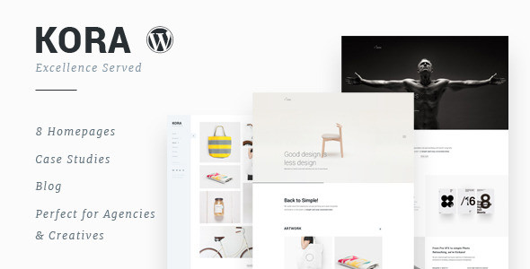 Kora v1.0 — Portfolio, Agency WordPress Theme