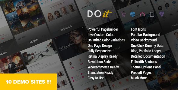 DOIT v1.4 — Creative MultiPurpose Theme