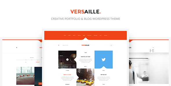 Versaille v1.3 — Personal Blog WordPress Theme