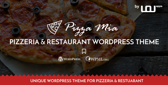 PizzaMia v1.1 — Restaurant and Pizza WordPress Theme