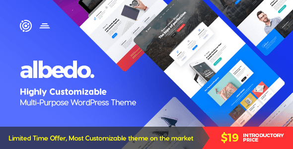 Albedo v1.0.2 — Highly Customizable Multi-Purpose Theme