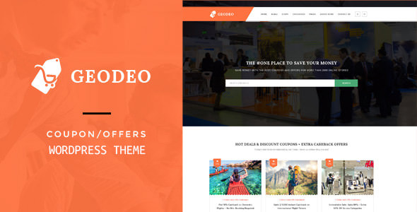 Geodeo v1.0.7 — Coupons & Deals WordPress Theme