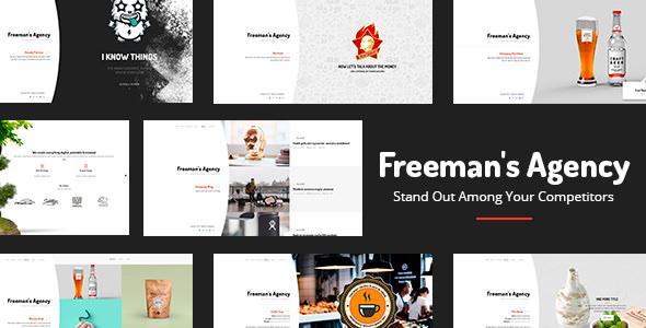 Freeman v1.0.4 — Exclusive Portfolio & Agency WordPress Theme