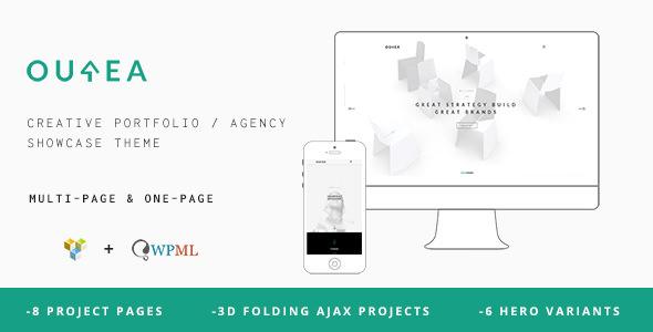 Ourea v1.6.2 — Creative Portfolio / Agency WP Theme