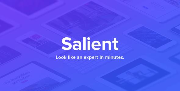Salient v8.5.3 — Responsive Multi-Purpose Theme