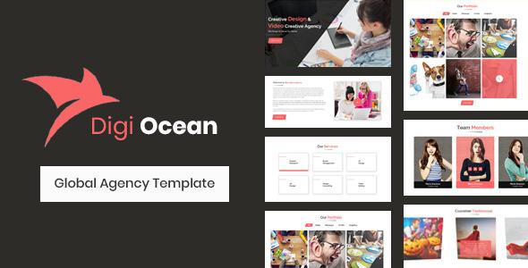 Digi Ocean — Creative Agency Template