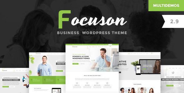 Focuson v2.9 — Business WordPress Theme