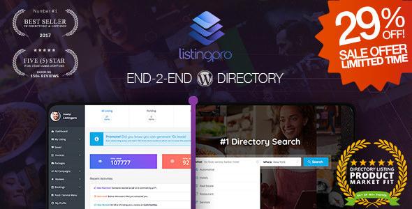 ListingPro v1.2.3 — Directory WordPress Theme