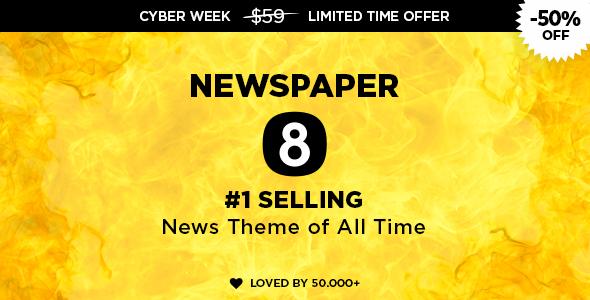 Newspaper v8.2 — WordPress News Theme