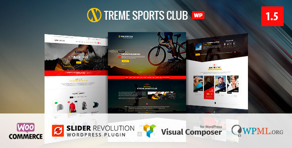 Xtreme Sports v2.0.2 — WordPress Club Theme