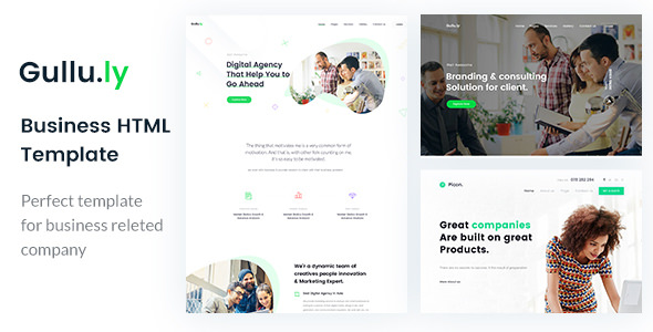 Gullu.ly — Creative Digital Agency & Multipurpose HTML Template