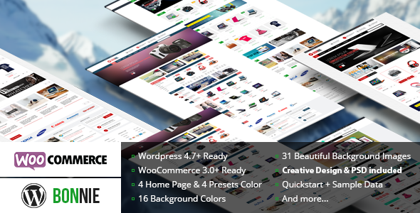 VG Bonnie v2.4 — Creative WooCommerce WordPress Theme