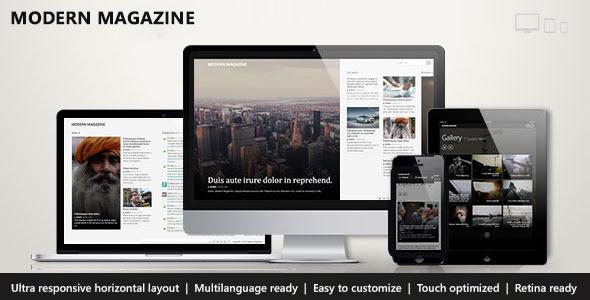 Modern Magazine — Metro Multi-Purpose Theme