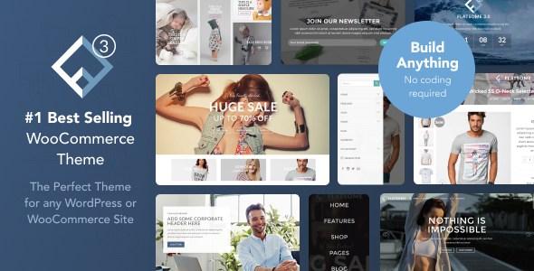 Flatsome v3.4.2 — Multi-Purpose Responsive WooCommerce Theme