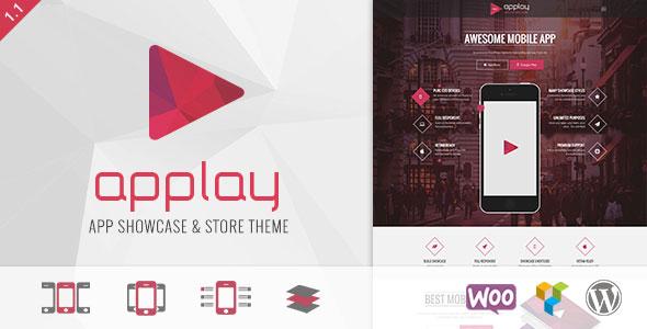 Applay v2.4.6 — WordPress App Showcase & App Store Theme