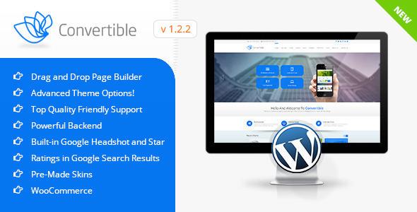 Convertible v1.4.1 — Business WordPress Theme
