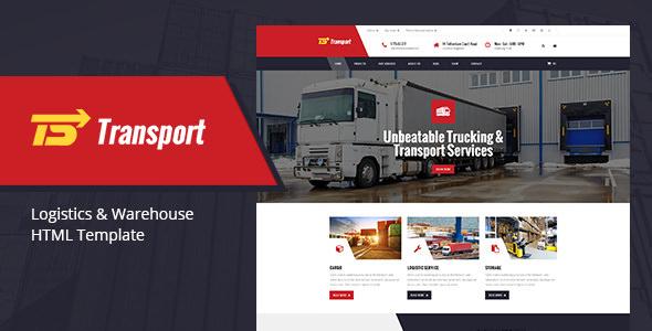 Transport — Transport, Logistic & Warehouse HTML Template