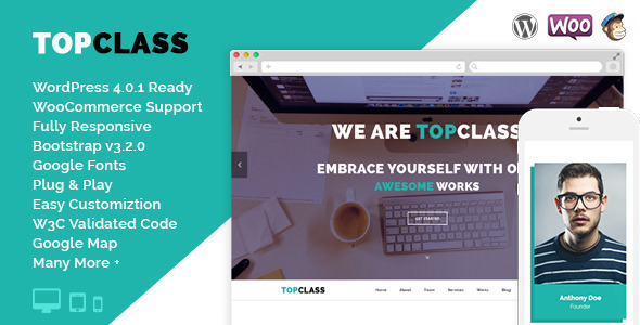 TopClass v3.0.2 — Multipurpose Business & Corporate Theme