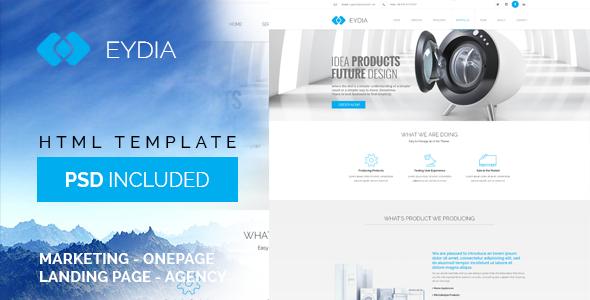 Eydia — Responsive Multi-Purpose HTML5 Template