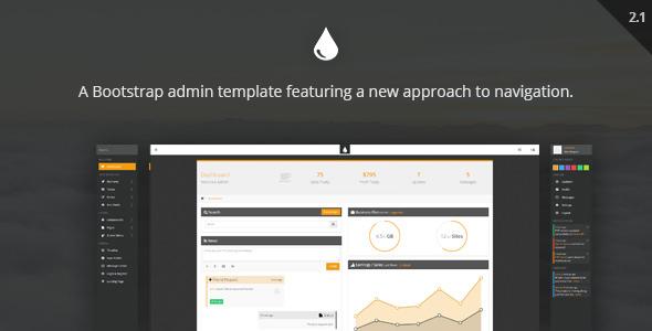 FreshUI v2.1 — Premium Web App and Admin Template