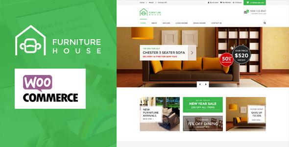 Furniture v1.5.4 — WooCommerce WordPress Theme