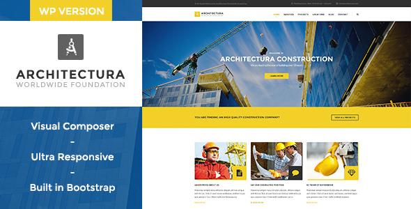 Architectura v1.1 — Construction & Building WP Theme