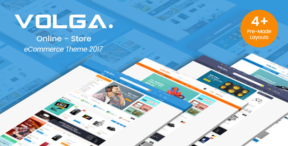 Volga — MegaShop Responsive Prestashop 1.7 Theme