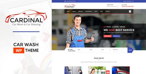 Car Dinal v1.4.6 — Car Wash & Workshop WP Theme