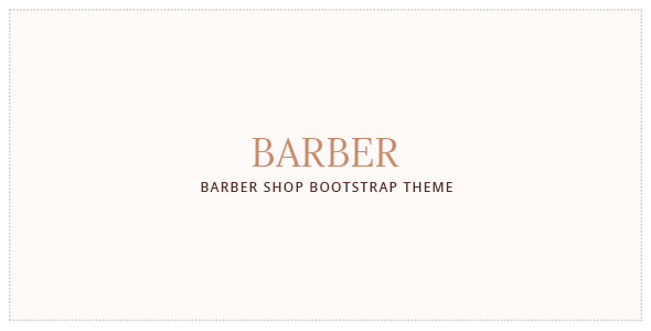Barber v1.0 — Hair Salon . Barber Shop Template