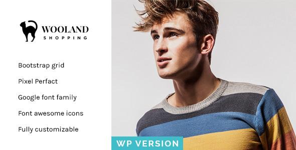 Wooland v1.2 — Responsive WooCommerce WordPress Theme