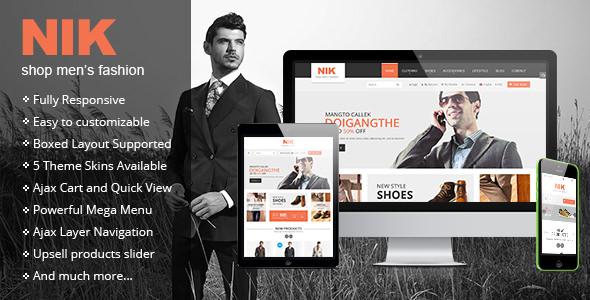 Nik v1.0.3 — Responsive Magento Fashion Theme